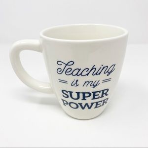 NEW Threshold TEACHING IS MY SUPER POWER Mug Cup